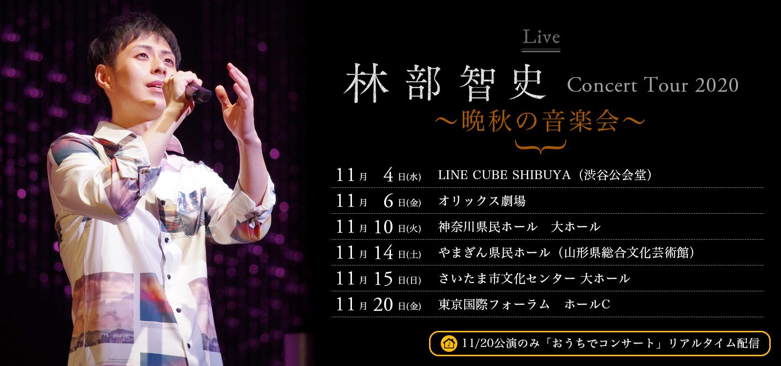 11月コンサートツアー決定!